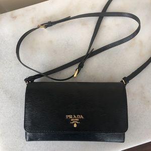 Prada crossbody wallet/purse